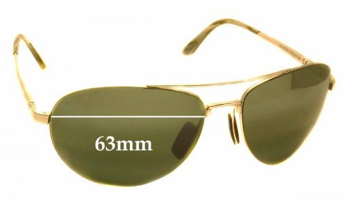 Maui Jim Pilot ME-BG MJ210 Replacement Sunglass Lenses - 63mm wide