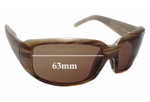 Sunglass Fix Replacement Lenses for Maui Jim Blue Water MJ236 - 63mm Wide