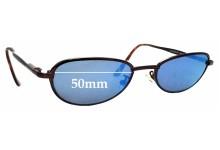 Sunglass Fix Replacement Lenses for Maui Jim Captain MJ130 - 50mm wide