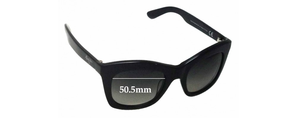 8027a51cfd7 Maui Jim Coco Palms MJ720 Replacement Sunglass Lenses - 50.5mm Wide