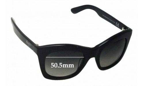 Maui Jim Coco Palms MJ720 Replacement Sunglass Lenses - 50.5mm Wide