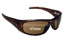 Sunglass Fix Replacement Lenses for Maui Jim Dorado MJ259 - 67mm Wide