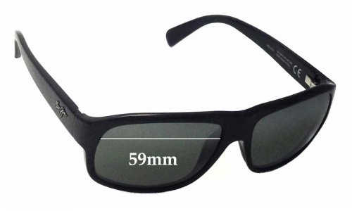Maui Jim Free Dive MJ200 Replacement Sunglass Lenses - 59mm wide