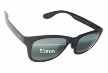 Maui Jim Hana Bay MJ434 Replacement Sunglass Lenses - 51mm Wide