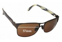 Maui Jim Hang 10 MJ296 Replacement Sunglass Lenses - 57mm Wide