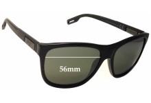 Maui Jim Howzit MJ734 Replacement Sunglass Lenses - 56mm wide