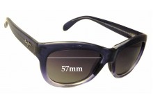 Maui Jim MJ270 Kanani Replacement Sunglass Lenses - 57mm Wide
