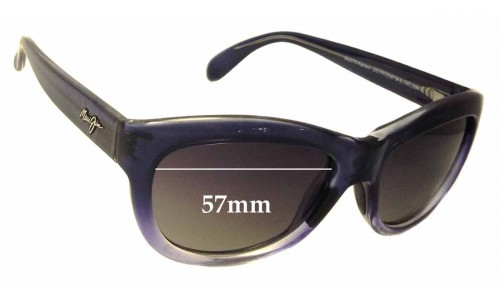 Maui Jim MJ270 Kanani Replacement Sunglass Lenses - 57mm Wide