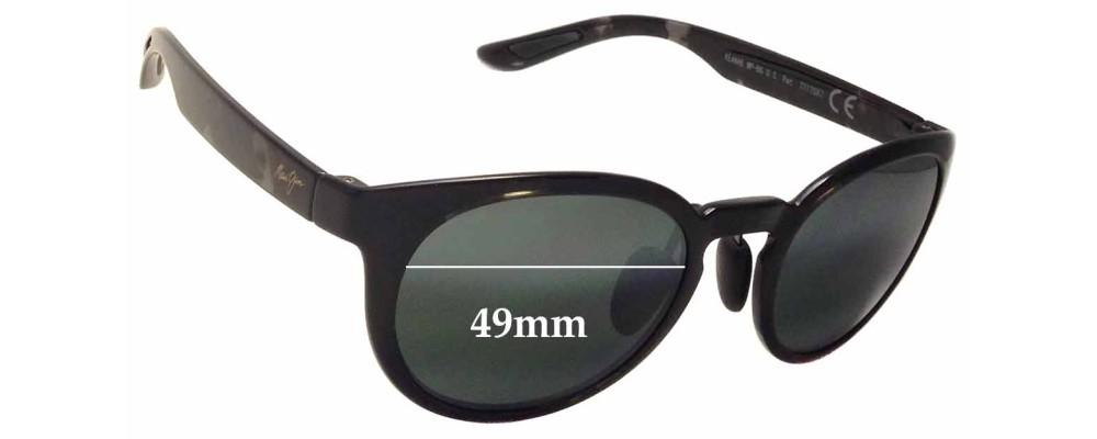 Maui Jim Keanae MJ420 Replacement Sunglass Lenses - 49mm wide