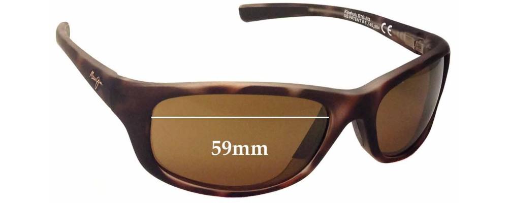 679cedf006b9 Maui Jim Kipahulu MJ279 Replacement Lenses 59mm by The Sunglass Fix™