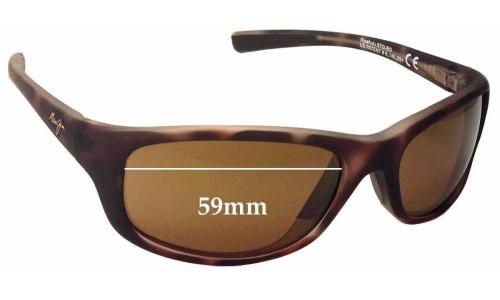 Maui Jim Kipahulu MJ279 Replacement Sunglass Lenses - 59mm Wide