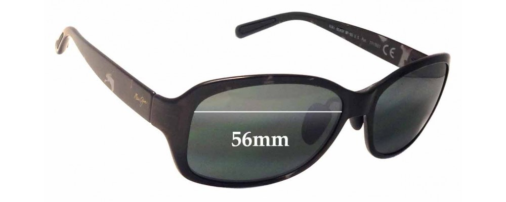 Maui Jim MJ433 Koki Beach Replacement Sunglass Lenses - 56mm wide