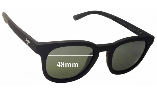 Maui Jim Koko Head MJ737 Replacement Sunglass Lenses - 48mm Wide