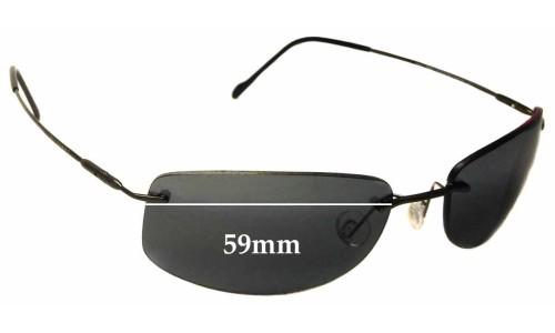 Maui Jim Lahaina MJ450 Replacement Sunglass Lenses - 59mm Wide