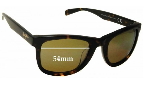 Maui Jim MJ293 Legends Replacement Sunglass Lenses - 54mm Wide