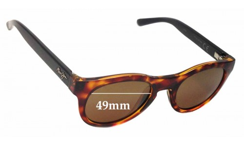 Maui Jim Liana MJ287 Replacement Sunglass Lenses - 49mm wide