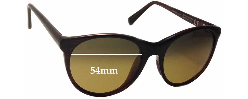 Maui Jim MJ704 Mannikin Replacement Sunglass Lenses - 54mm Wide