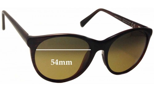 Maui Jim MJ704 Mannikin Replacement Sunglass Lenses - 54mm Wide