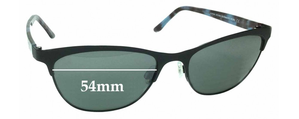 11651533af Maui Jim MJ729 Popoki STG-BG Replacement Lenses 54mm by The Sunglass ...