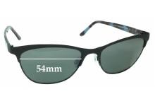 Maui Jim MJ729 Popoki STG-BG Replacement Sunglass Lenses - 54mm Wide