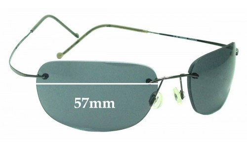 Maui Jim MJ502 Kapalua Replacement Sunglass Lenses - 57mm Wide *Please measure as there are size variations*