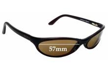 Sunglass Fix Replacement Lenses for Maui Jim 126 Riptide - 57mm Wide