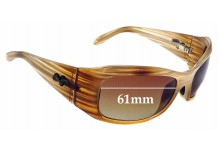 Sunglass Fix Replacement Lenses for Maui Jim MJ134 Hibiscus - 61mm Wide