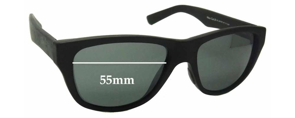 Maui Jim MJ209 Replacement Sunglass Lenses - 55mm Wide