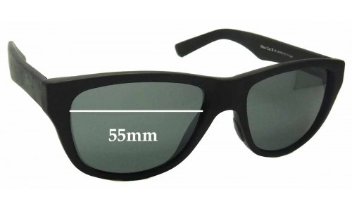 Sunglass Fix Replacement Lenses for Maui Jim MJ209 - 55mm Wide