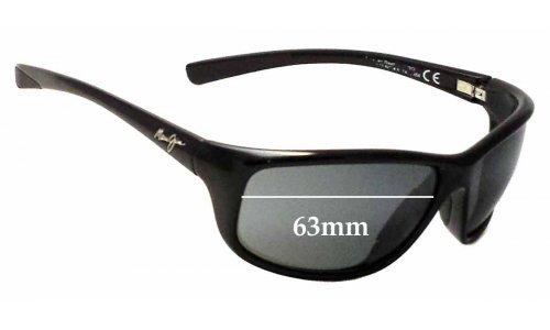 Maui Jim MJ278 Spartan Reef Replacement Sunglass Lenses - 63mm Wide