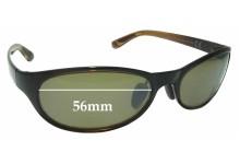 Maui Jim MJ416 Pipiwai Trail Replacement Sunglass Lenses - 56mm wide