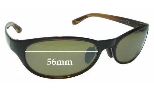 Maui Jim MJ416 Pipiwai Trail Replacement Sunglass Lenses - 56mm wide