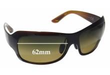 Maui Jim MJ418 Seven Pools Replacement Sunglass Lenses - 62mm Wide