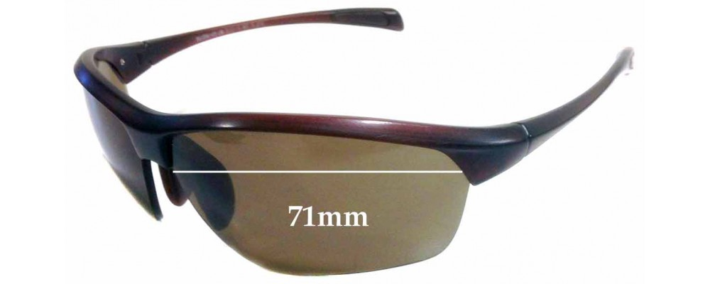 Maui Jim MJ429 Stone Crushers Replacement Sunglass Lenses - 71mm wide
