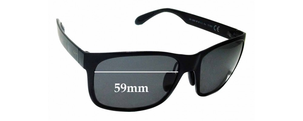 Sunglass Fix Replacement Lenses for Maui Jim MJ432 Red Sands - 59mm wide