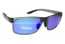 Maui Jim MJ439 Pokowai Arch MP-BH Replacement Sunglass Lenses - 58mm Wide