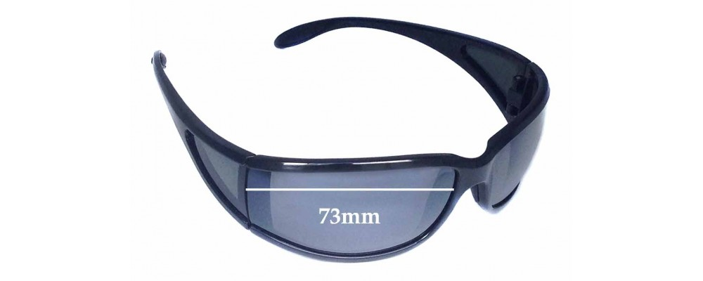 Maui Jim Offshore MJ444 Replacement Sunglass Lenses - 73mm Wide