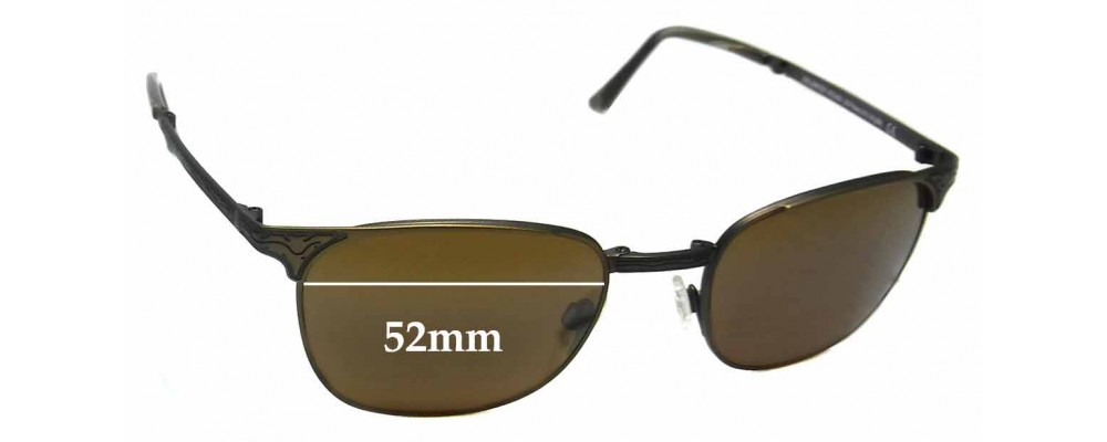 Maui Jim MJ706 Stillwater STG-BG Replacement Sunglass Lenses - 52mm Wide
