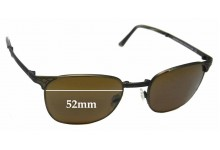 b9665a3461c7 Maui Jim MJ706 Stillwater STG-BG Replacement Sunglass Lenses - 52mm Wide
