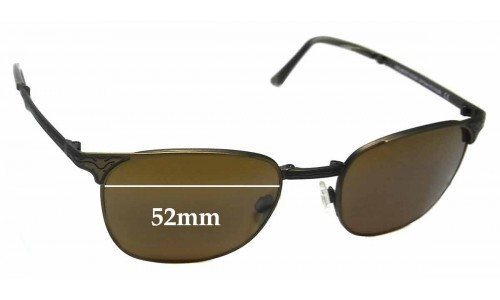 Maui Jim MJ706 Stillwater STG-BG Replacement Sunglass Lenses - 52mm Wide