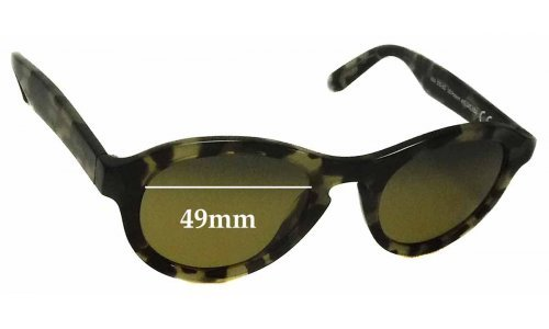 Maui Jim Leia MJ708 Replacement Sunglass Lenses - 49mm wide