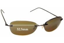 69bbaa67d6c3 Maui Jim MJ719 NENE Replacement Sunglass Lenses - 52.5mm wide