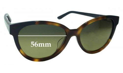 Maui Jim MJ725 Sunshine STG-SG Replacement Sunglass Lenses - 56mm wide