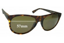 Maui Jim MJ731 Rising Sun STG-BG Replacement Sunglass Lenses - 57mm Wide