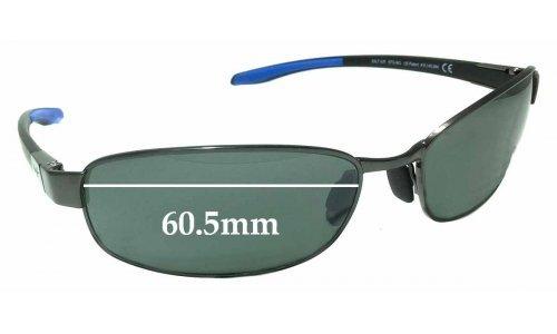 Maui Jim MJ741 Salt Air STG-BG Replacement Sunglass Lenses - 60.5mm Wide