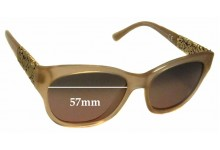 Maui Jim MJ747 Monstera Leaf Replacement Sunglass Lenses - 57mm Wide