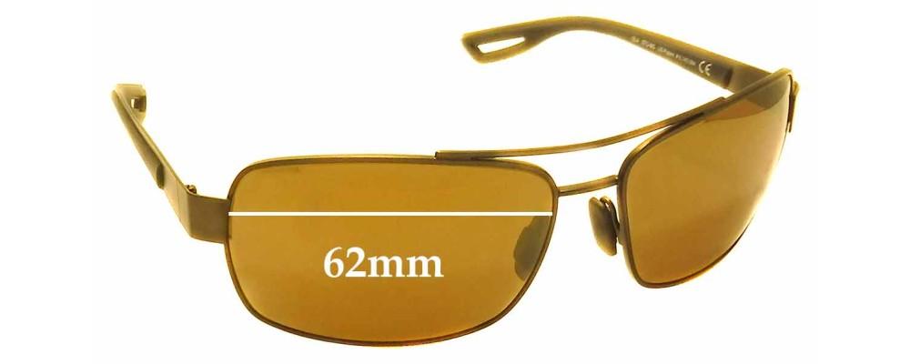 Maui Jim MJ764 Ola STG-BG Replacement Sunglass Lenses - 62mm Wide