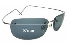 f83570cc3662 Sunglass Fix Replacement Lenses for Maui Jim MJ902 Kapalua RX - 57mm Wide  (MJ902 Prescription