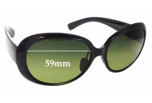 Sunglass Fix Replacement Lenses for Maui Jim Nahiku MJ436 - 59mm wide