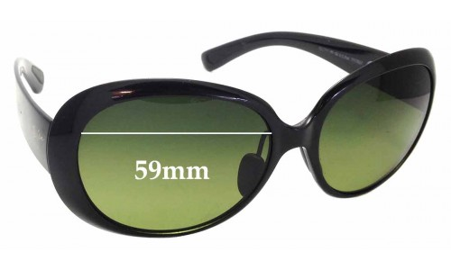 Sunglass Fix Replacement Lenses for Maui Jim Nahiku MJ436 - 59mm wide